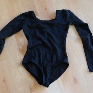 Black Capezio leotard, kids large